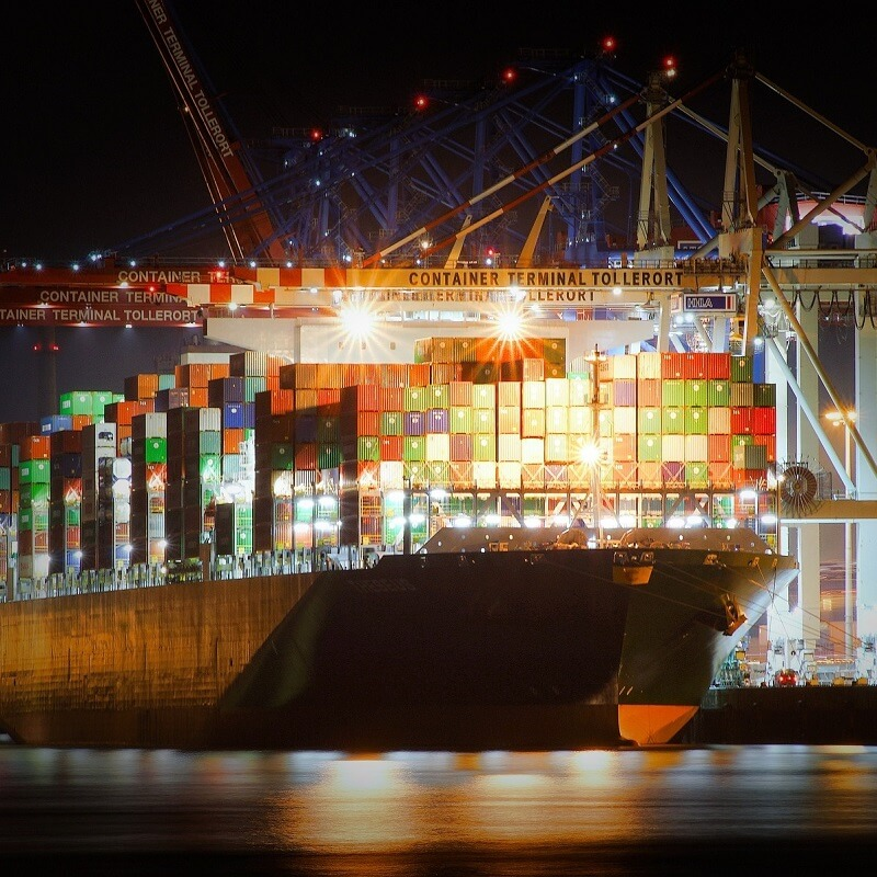 Ship Suppliers - Sump & Stammer GmbH   International Food Supply - We are your business partner when it comes to ship supply. We have been working with ship suppliers for decades and have gained a complete understanding of the industry and especially of customers' requirements. We make sure to offer you an individual service and the best price-quality ratio. Necessary documents are produced in-house, making your process easier. You want the goods delivered to wherever you are? We are happy to offer you logistic services to every destination you ask for. - Decades of experience in supplying ship suppliers - Products with long shelf-lives for long journeys - Best price-quality-ratio - Worldwide sourcing of products - Private label products to reduce your costs - Short lead times due to a huge number of stock items - Reliable service - Logistic services to wherever you are